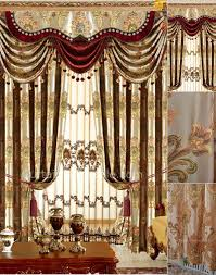 Burgundy Curtains For Living Room Delightful Design Living Room Curtains With Valance Fancy