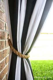 Curtain Tie Backs For Decorating Excellent Outdoor Curtain Tie Backs Decorating
