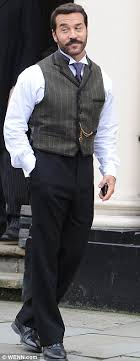 hairstyles and clothes from mr selfridge mr selfridge jeremy piven returns with handlebar moustache to