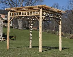 Pergola Kits Cedar by Patio Pergolas Pergola Kits Fifthroom