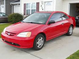 buy used 2001 honda civic lx coupe in hubert north carolina