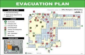 Evacuation Floor Plan Template Evacdisplays Manufacturing Industry Evacuation Diagrams And Signs