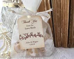 bird seed favors birdseed bags etsy