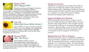 the balanced child solutions la vie de la rose flower essences