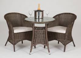 Patio High Table by 19 Patio High Dining Table Riverdale 2 Seat Bistro Rattan