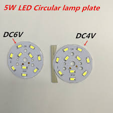 circular led light strip 10pcs small round light board 4v 6v strips light plate 32mm 50 mm