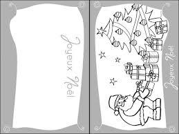 Cartes de voeux de Noël à colorier  32 coloriages de Noël