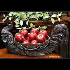 Country Apple Decorations For Kitchen - 197 best kitchen red apples cows u0026 roasters images on