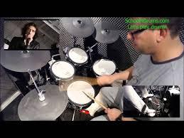 real drum tutorial rude rude magic drum tutorial by school4drums com drum cover youtube
