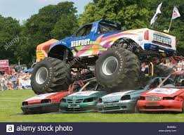 monster trucks bigfoot bigfoot monster truck trucks suv ford pickup pick up car crushing