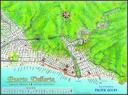 Jalisco Mexico Map by Mapa Jeff Cartography Puerto Vallarta Maps