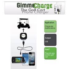amazon com gimme charge universal golf cart phone charger sports