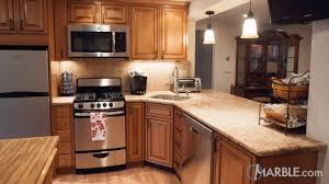 kitchen different types of kitchen countertops blue granite