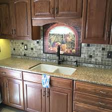 kitchen backsplash tile designs tile medallions for backsplash mosaic medallion with alloy golden