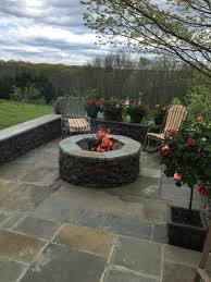 Backyard Fire Pit Images Outdoor Fireplaces Outdoor Fire Pits And Gas Burning Fire Pit In