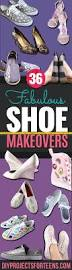 Decorate Shoes 36 Fabulous Shoe Makeovers Anyone Can Do Diy Projects For Teens