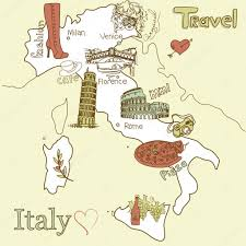 Map Of Italy by Creative Map Of Italy U2014 Stock Vector Alisafoytik 10377222