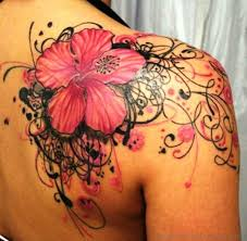 Big Flower Tattoos On - 100 orchid flower