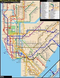 Map Nyc Subway Nyc Subway Fantasy Map Revision 19 Late Nights By Ecinc2xxx On