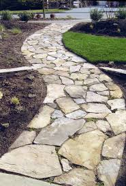 Paving Stone Designs For Patios by Best 25 Stone Walkways Ideas On Pinterest Stone Walkway