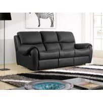canapé cuir noir 3 places canape cuir noir 3 places achat canape cuir noir 3 places pas
