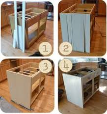 do it yourself kitchen islands how to build a kitchen island using stock cabinets woodworking