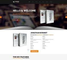 templates for bookshop modern responsive website templates for selling books