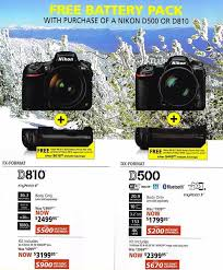 mirrorless camera black friday deals nikon 2016 black friday deals leaked online nikon rumors
