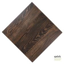idabel dark brown wood modern desk with glass top custom made solid hardwood table top for restaurant in sapele on