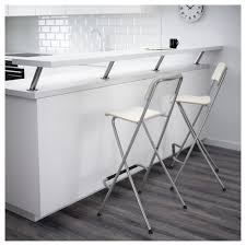 franklin bar stool with backrest foldable 74 cm ikea