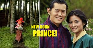 this beautiful country celebrates new born prince by planting