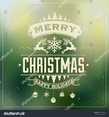 vintage christmas background typography stock vector 166756646