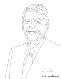 president ronald reagan coloring pages inside ronald reagan