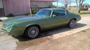 camaro berlinetta for sale 1979 chevy camaro berlinetta 1 owner low rust free so cal