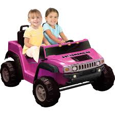 pink toy jeep national products 12v two seater hummer h2 battery powered