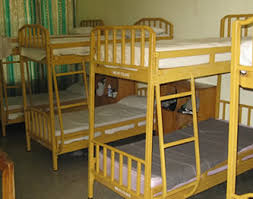 Four Bunk Bed Budget Room With Four Bunk Beds Mole Motel And National Park
