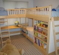How To Make A Loft Bed With Desk Underneath by 25 Best Bunk Bed Desk Ideas On Pinterest Bunk Bed With Desk