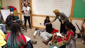 chicago halloween shooting this black collective trains bystanders to give first aid to