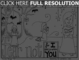 christian halloween coloring pages religious halloween