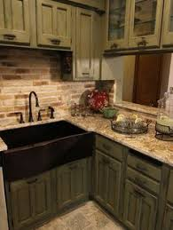 Apron Sink With Backsplash by That Sink And Thick Concrete Countertops Dream Home Ideas