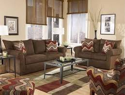 brown livingroom and brown living room furniture living room with brown coach
