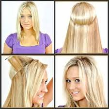 halo hair human straight or wavy flip in halo hair extensions platinum blonde