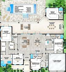 florida house plans with pool home plans with courtyards in the middle house plans with pool