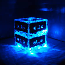 80s party table decorations popular items for rock n roll wedding on etsy set of 10 blue mixtape