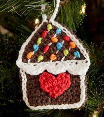 how to make gingerbread house crochet ornaments joann