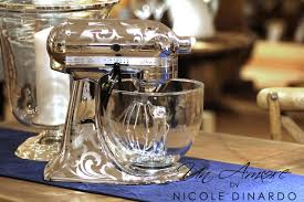 Kitchenaid Mixer Artisan by Un Amore Custom Designs Chrome Etched Kitchenaid Mixer Custom