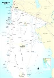 map baja california mexico maps and directions at brilliant of