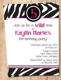 purple leopard animal print birthday invitation printable file