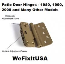 Patio Door Hinges Biltbest Patio Door Hinges Inswing And Outswing Door