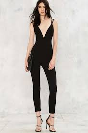 plunging jumpsuit meaning plunging jumpsuit